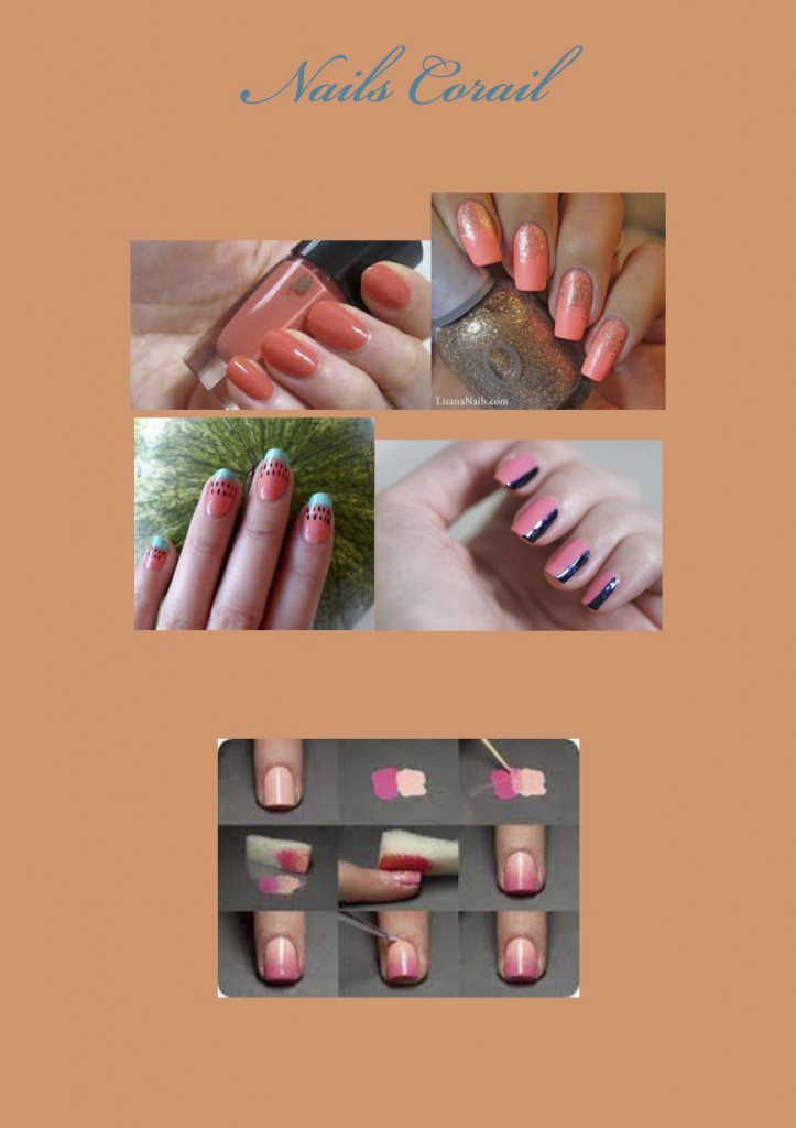 DESPERATELILY.FR Nails Corail