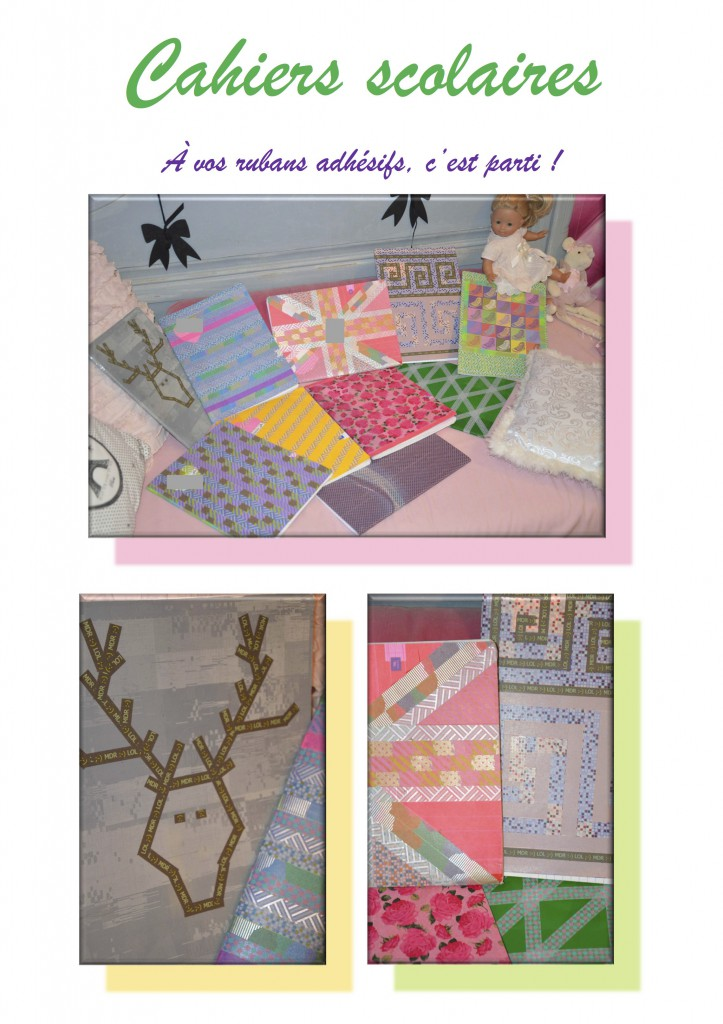 DESPERATELILY.FR DIY Cahiers scolaires