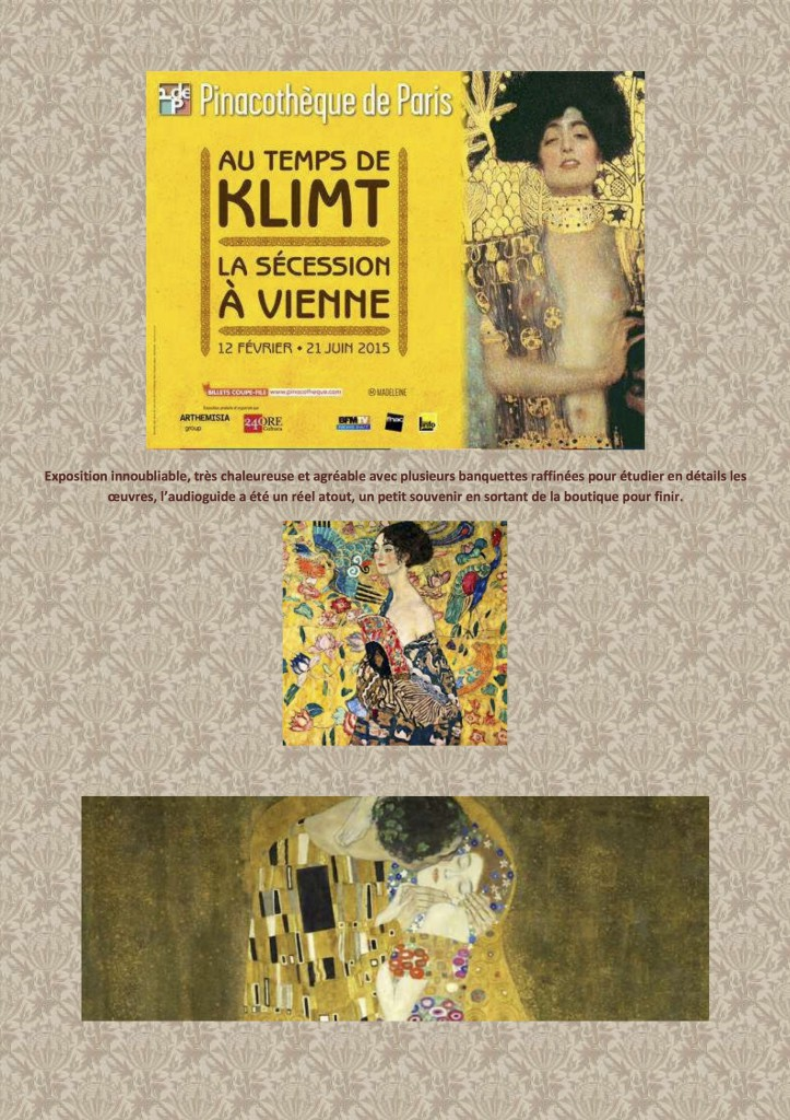DESPERATELILY.FR Klimt