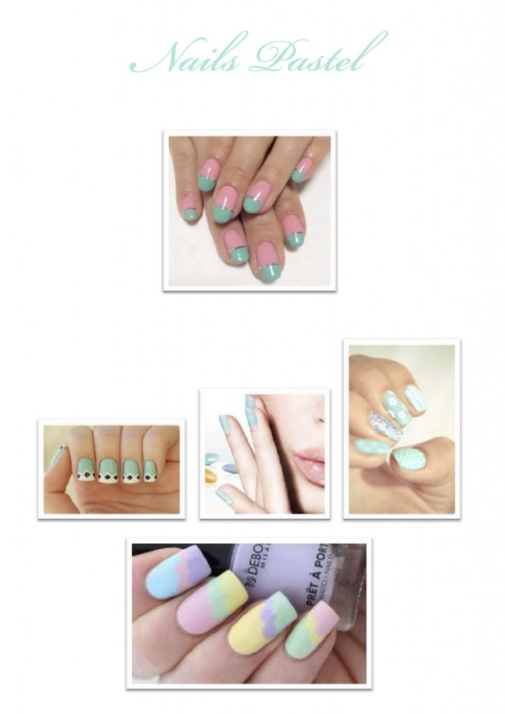 DESPERATELILY.FR Nails Pastel