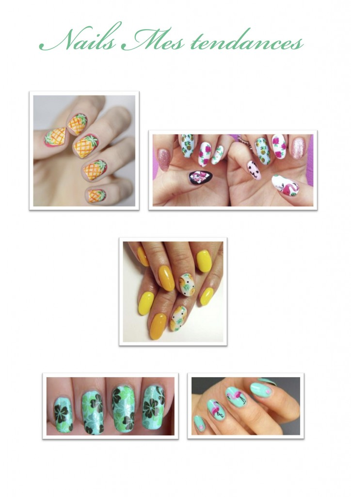 DESPERATELILY.FR Nails mes tendances